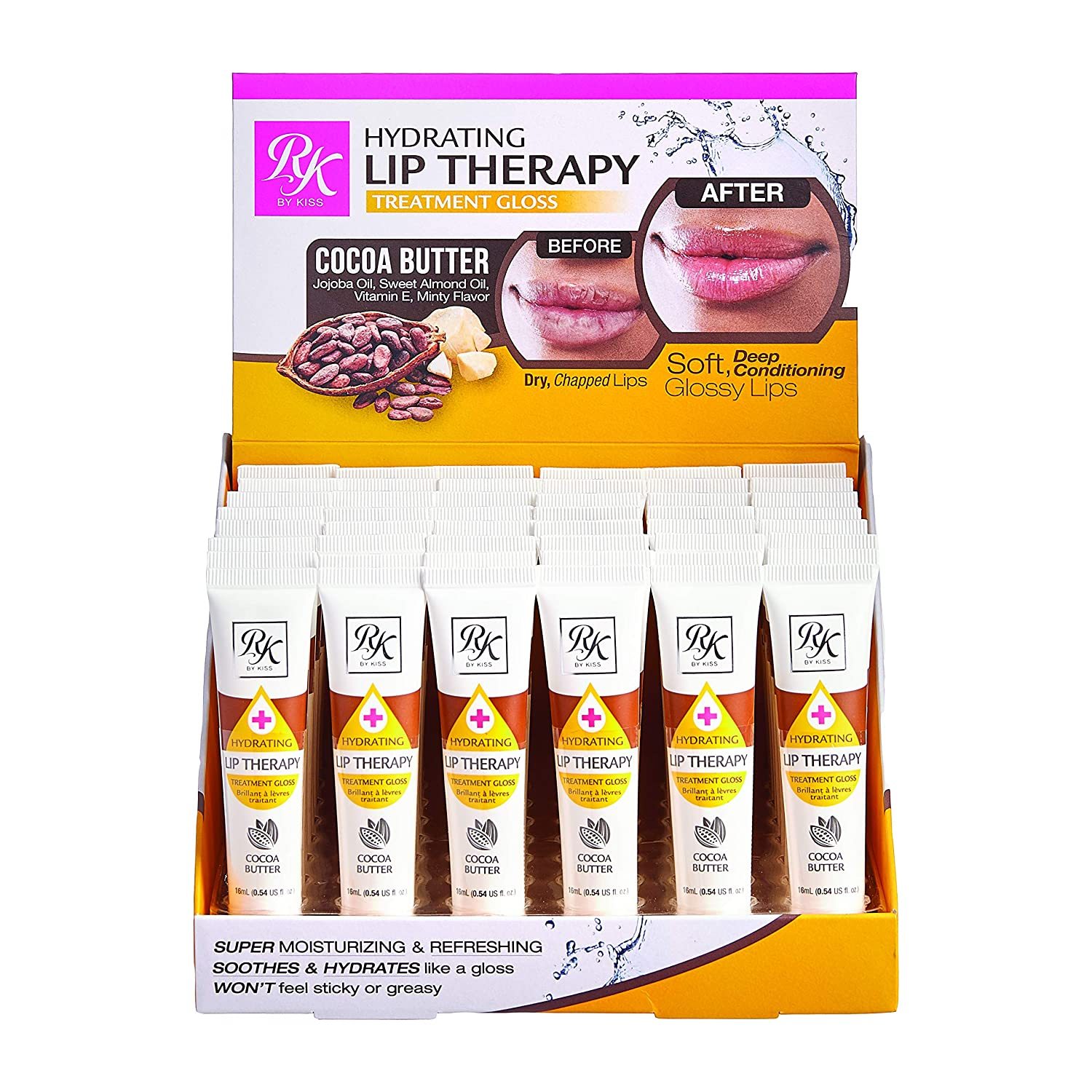 Weekly update Ruby Kisses Hydrating Lip Therapy Cocoa Butter Sale Special Price Treatment R Gloss
