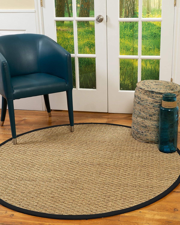 NaturalAreaRugs 100% Milwaukee Mall Natural Fiber Basketweave Seagra Handmade Online limited product