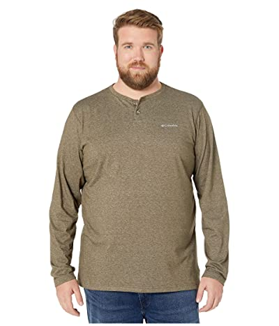 Columbia Big Tall Thistletown Parktm Henley (Olive Green Heather) Men