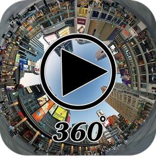 Visor 3D de reproductor de video de 360 °