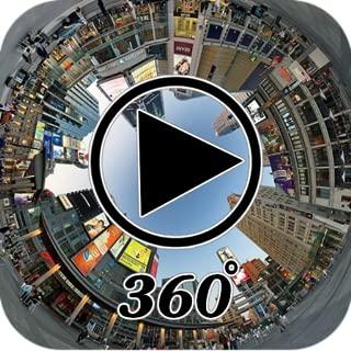 360° video player 3D viewer