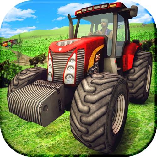 Real Farming Simulator 2018: Tractor Farming Games