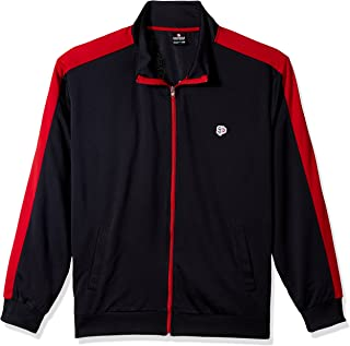 Southpole Men's Full-Zip Athletic Track Jacket
