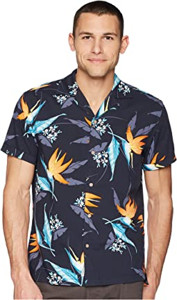 Short Sleeve Tropical Floral
