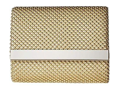 Jessica McClintock Katie Bar Flap (Light Gold) Handbags