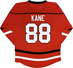 Patrick Kane Chicago Blackhawks #88 Red Infants Toddler Home Stripe Fashion Team Jersey