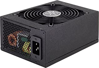 Silverstone Tek 1500W 80 Plus Gold Certified Fully Modular Active PFC Power Supply with Support for 8X PCI-E 8/6pin Connec...