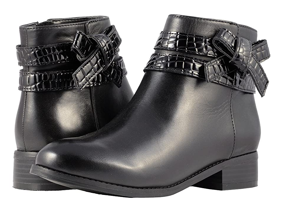 Trotters Luxury (Black Croco/Smooth) Women