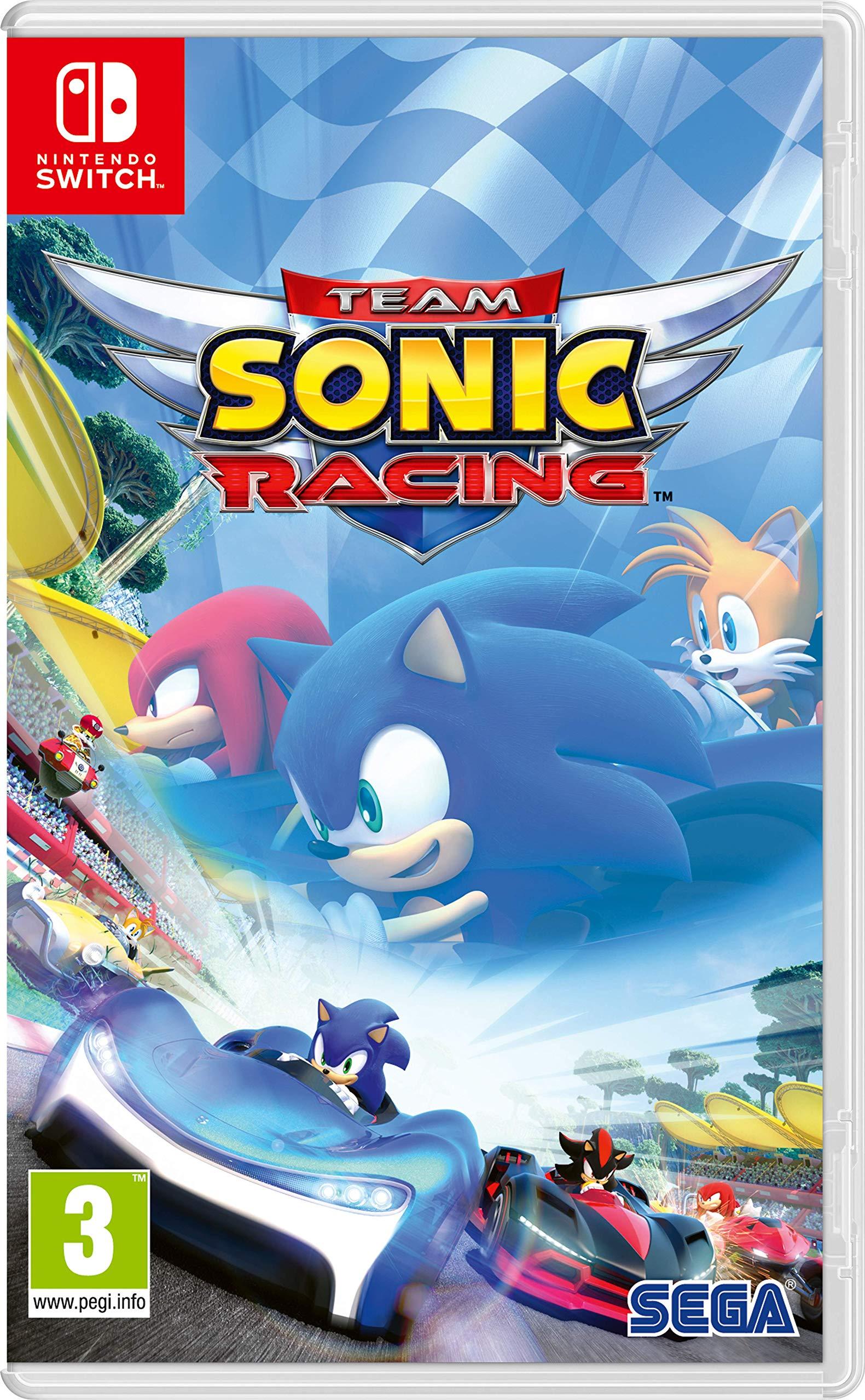 Team Sonic Racing - Nintendo Switch [Importación inglesa]: Amazon ...