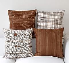 Amazon.es: cojines para sofa marron