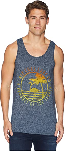 Tropics Mock Twist Tank Top