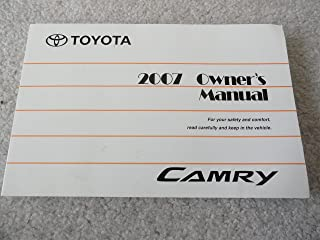 2007 Toyota Camry Owner's Manual