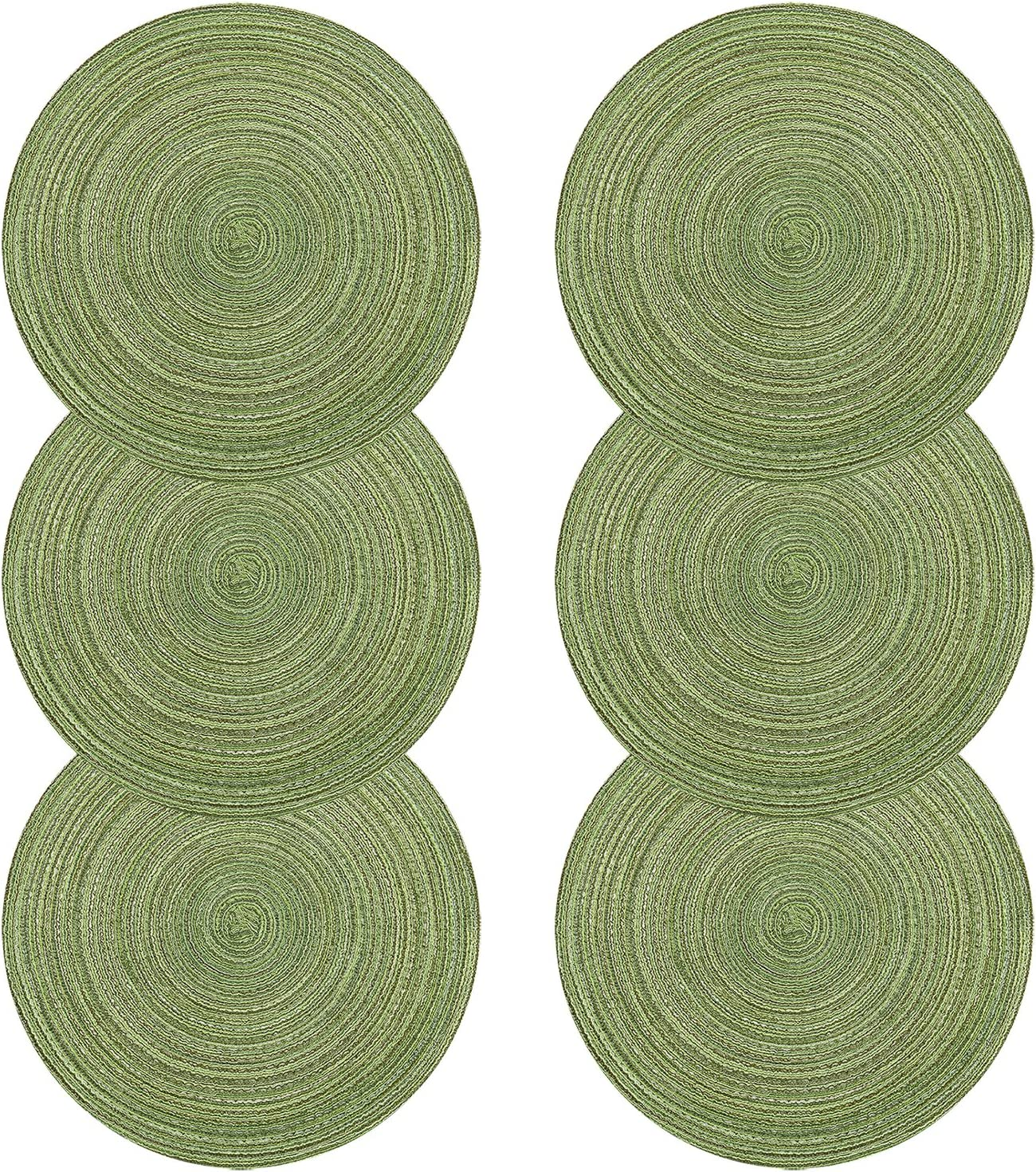 bajo plato verde