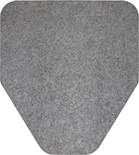 Big D 6669 D-Sorb Urinal Mat, Disposable, Protects Restroom Floor (Pack of 6) - Ideal for restrooms in Offices, Schools, R...