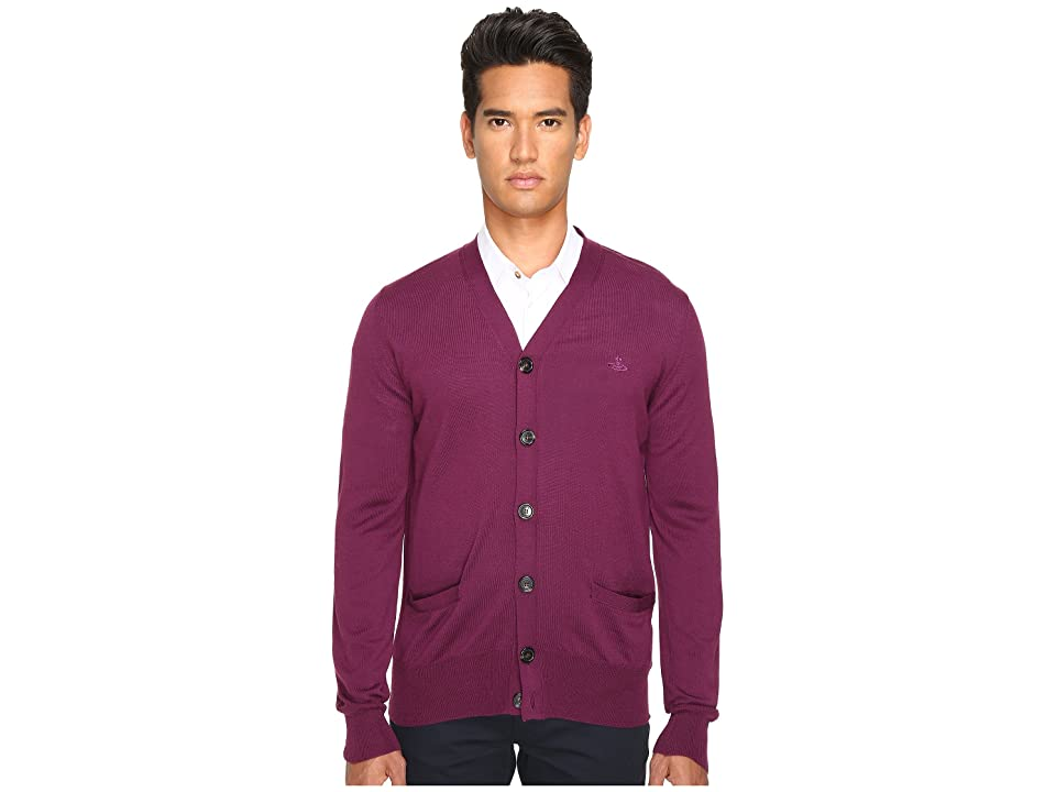 Vivienne Westwood Classic Cardigan (Purple) Men