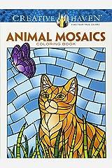 Creative Haven Animal Mosaics Coloring Book Paperback