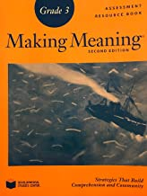 Making Meaning Second Edition Grade 3 Assessment Resource Book