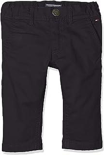 Tommy Hilfiger Boys Slim Chino Ostw PD Pantalones para Niños