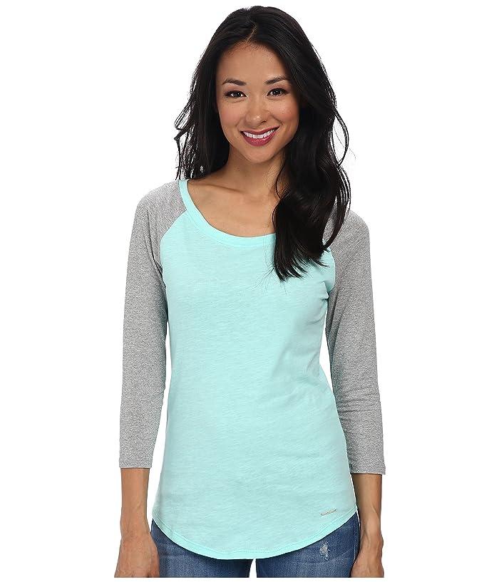U.S. POLO ASSN. Metallic 3/4 Sleeve with Light Weight Jersey Knit Body T-Shirt