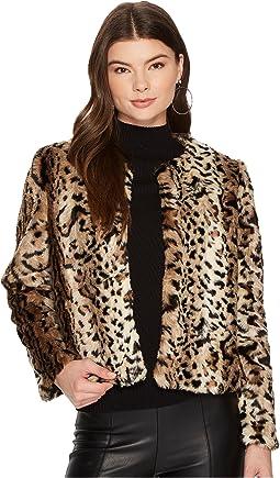 BB Dakota - McKinley Leopard Faux Fur Jacket