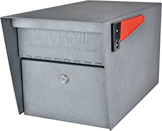 Mail Boss 7505 Mail Manager Curbside, Granite Locking Security Mailbox,