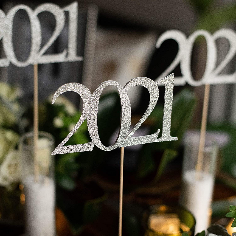 Silver Indianapolis Mall 2021 Graduation Cen Sticks. Centerpiece low-pricing