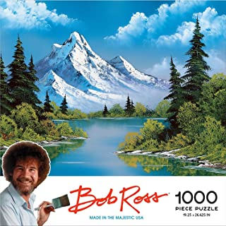 Hot Topic Bob Ross Mountain Painting Puzzle