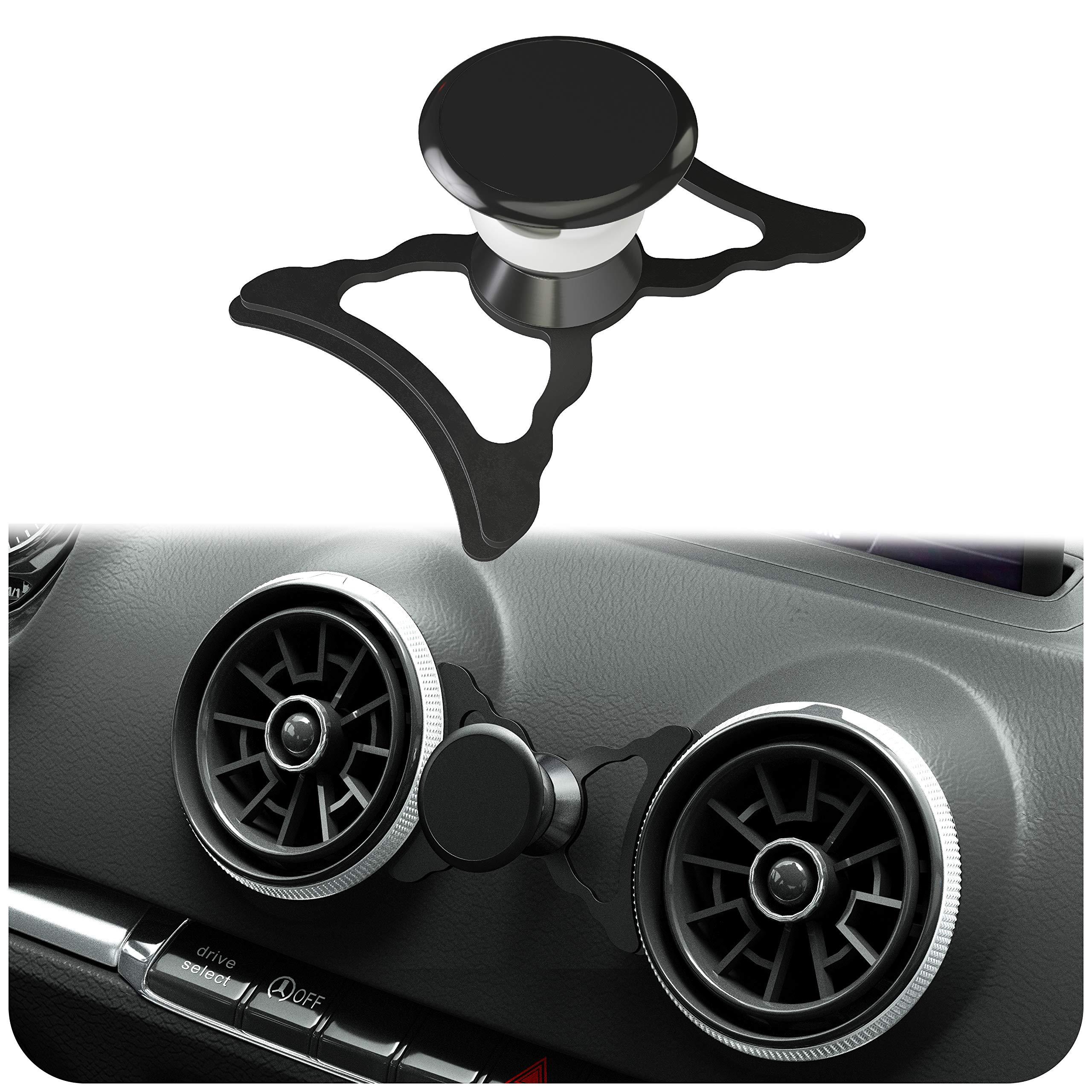 innoGadgets Soporte magnético para teléfono móvil Compatible con Audi A3/S3/RS3 | Soporte Universal para Smartphone, GPS y Tablet | 360 Ajustable para una Visibilidad óptima | Negro: Amazon.es: Electrónica