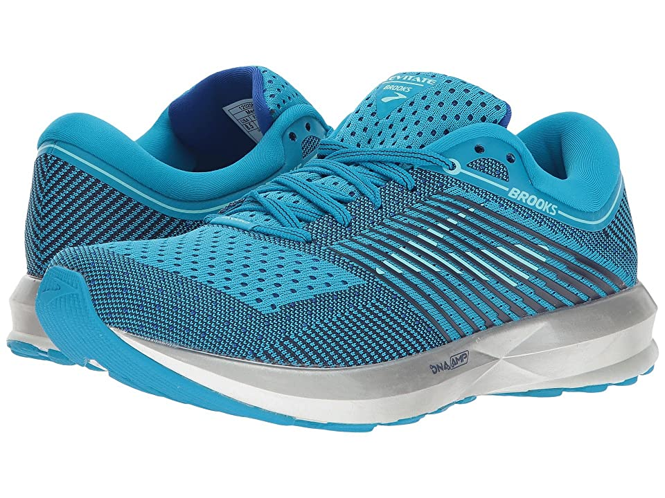 Brooks Levitate (Blue/Mint/Silver) Women