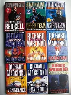Rogue Warrior Series Set (9 Books) Red Cell, Green Team, Task Force Blue, Seal Force Alpha, Echo Platoon, Detachment Bravo, Vengeance, Holy Terror, Dictator's Ransom