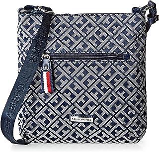 Tommy Hilfiger Crossbody Bag for Women - Canvas, Navy Blue