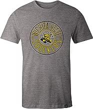 NCAA Wichita State Shockers Adult Circles Image One Everyday Short sleeve T-Shirt, XX-Large,HeatherGrey