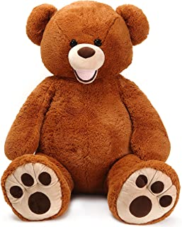 VIAHART Moochie The Bear | 5 Foot (60 Inch) Stuffed Animal Jumbo Big Lifesize Huge Giant Large Plush Teddy | Shipping from Texas | by Tiger Tale Toys