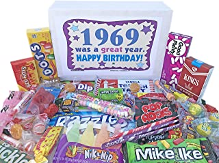 Sponsored Ad - Woodstock Candy ~ 1969 52nd Birthday Gift Box Candy Assortment from Childhood for 52 Year Old Man or Woman ...