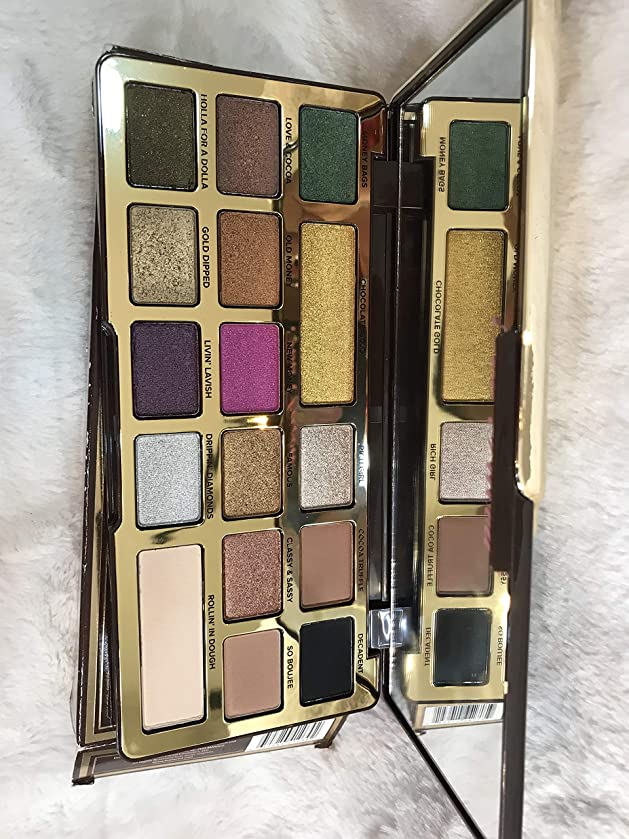 同様に換気作曲家TOO FACED Chocolate Gold Metallic/Matte Eyeshadow Palette