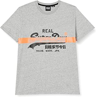 Superdry Men's Vl Cross Hatch Tee T-Shirt