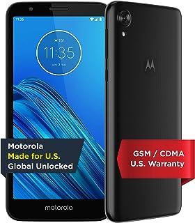 Moto E6 | Unlocked | Made for US by Motorola | 2/16GB | 13MP Camera | Blue