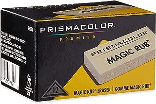 Prismacolor 73201 Magic Rub Vinyl Drafting Erasers, 12-Count
