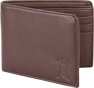 CREATURE Classic Pu-Leather Brown Wallet/Purse for Men/Boys(Brown || D-01)