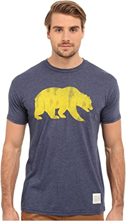 Short Sleeve Heathered Cal Tee