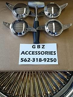 GBz-11 2 Bar Knock Off Smooth & Hammer/Wire Wheels