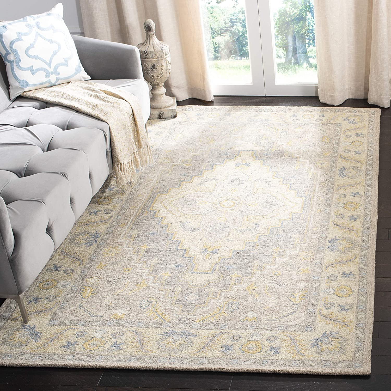 Under blast sales Safavieh Micro-Loop Award Collection MLP602B Wool Handmade Are Premium