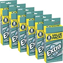 EXTRA--Polar Ice Sugarfree Gum, Icy Fresh, Mint Flavored, Sugarfree Chewing Gum with Long Lasting Flavor, Freshens Breath, 120 Count (Pack of 6)