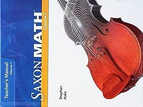 Best saxon math course 3 teacher edition Reviews