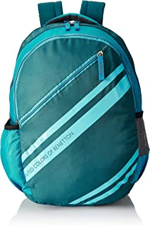United Colors of Benetton 34 Ltrs Green School Backpack (0IP6SCHBPTS5I)