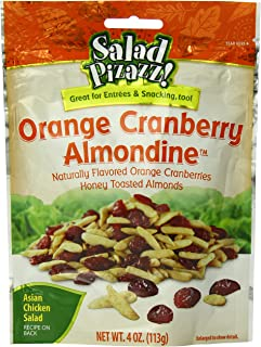 Salad Pizazz Salad Toppings, Orange Cranberry Almondine, 4 Ounce (Pack of 6)