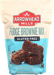 Arrowhead Mills Gluten-Free Fudge Brownie Mix, 17.5 oz. (Pack of 6)