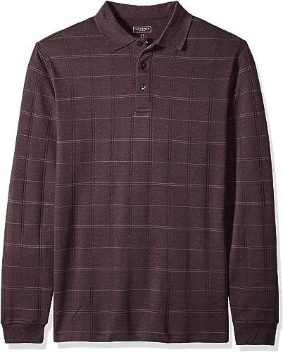 Van Heusen Hommes's Taille Big and Tall Flex Jaspe Polo Shirt, Monet Plaid, grand Tall