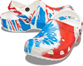Amazon.com: red white and blue crocs