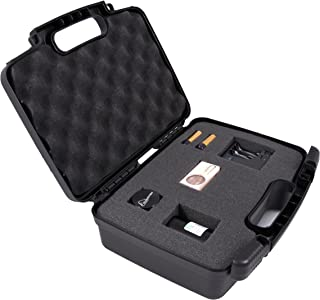 Discreet Hard Carry Case Box - Fits Magic Flight Launch Box , Finishing Grinder , Trays , Battery , Stem , Charger , Adapter and More